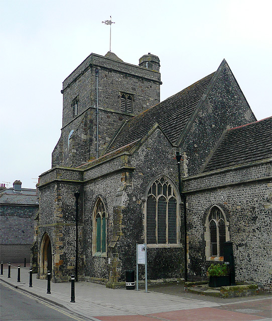 The Church of St Thomas a Becket, Cliffe, East Sussex