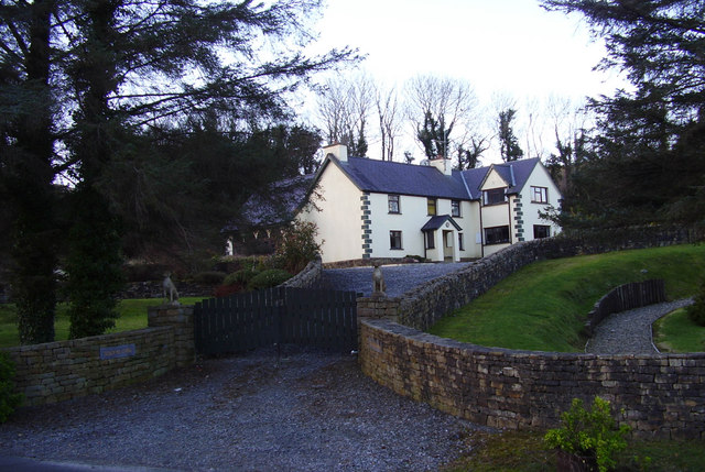 House at  Bracky  Bridge,  Ardara.