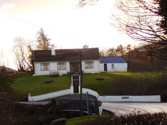 Mc Cabe's house at Bracky bridge, Ardara.