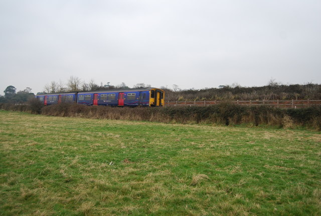 The train to Exmouth