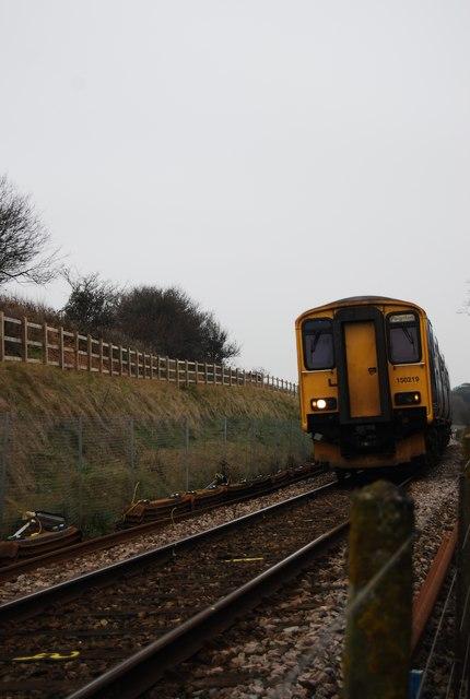 Exmouth to Paignton train