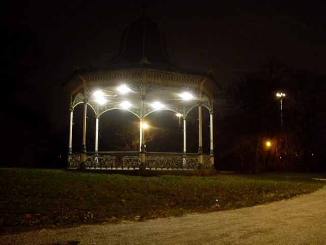Bandstand on Town Moor