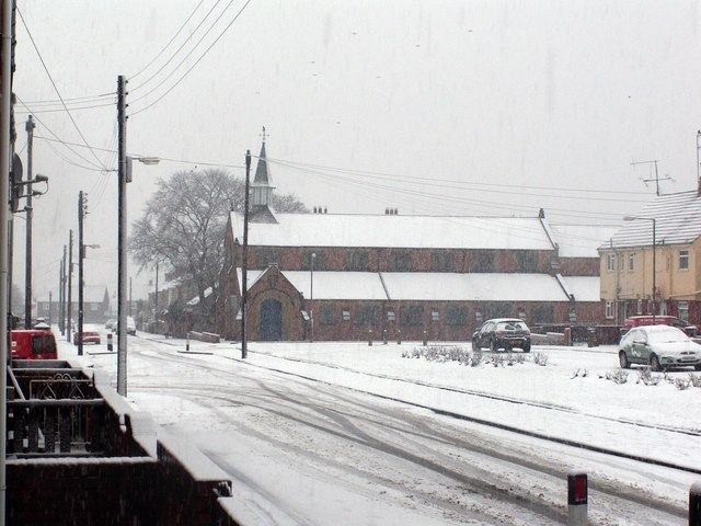St Johns in winter.