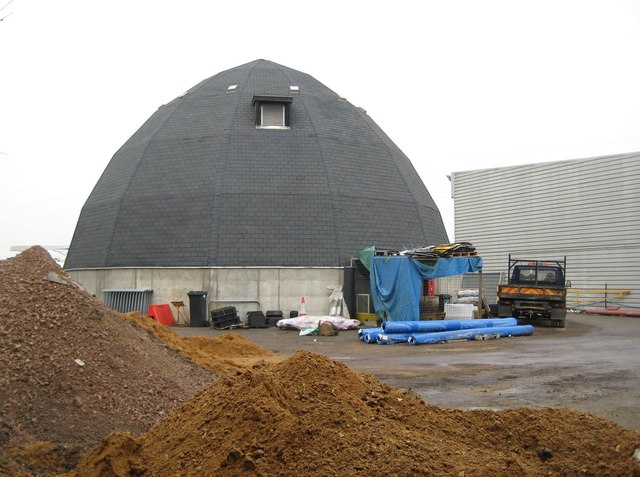 Chalvey: Slough Borough Council salt dome