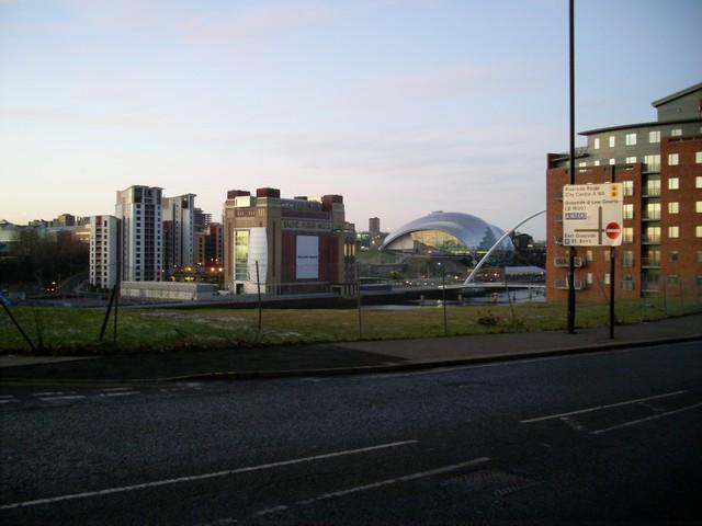Gateshead Quays from City Road, Newcastle