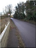 TF8707 : Bridge over River Wissey towards Erneford House by Alison Haines