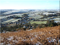SK2077 : Eyam, from Eyam Edge by Peter Barr