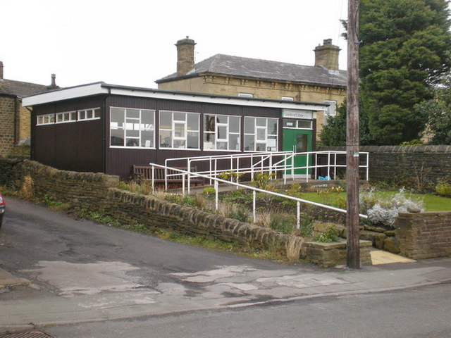 Greetland Library, Rochdale Road
