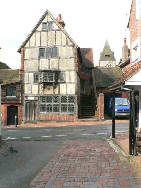 An old house in Ditchling