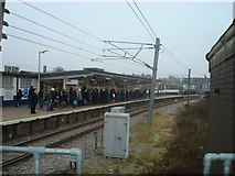TQ2182 : Willesden Junction High Level Station by Stacey Harris