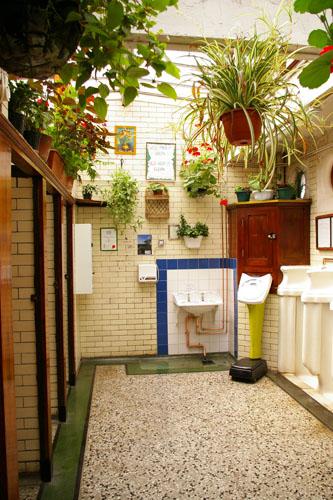 Gents toilet on Nelson Street