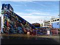 TQ3303 : Children's Play Area, Park Square, Brighton Marina by Simon Carey