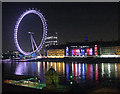 TQ3079 : Eye across the Thames by night ... by Zorba the Geek