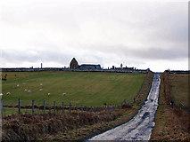 NG2261 : Trumpan church by Richard Dorrell