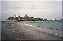 SC2484 : St Patrick's Isle and Peel Castle - 1 by Trevor Rickard