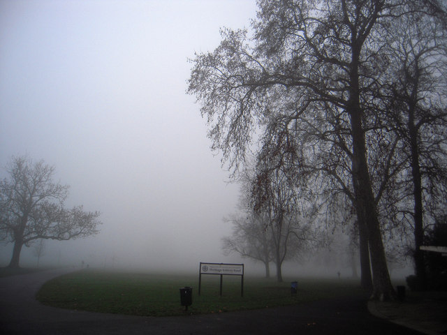 Entrance to Brockwell Park