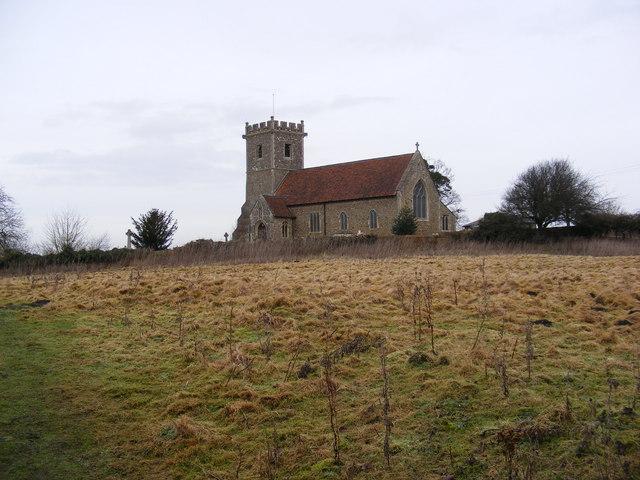 St.Mary's Church, Creeting St.Mary