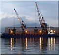 J3576 : The 'Suderau' at Stormont Wharf, Belfast by Rossographer