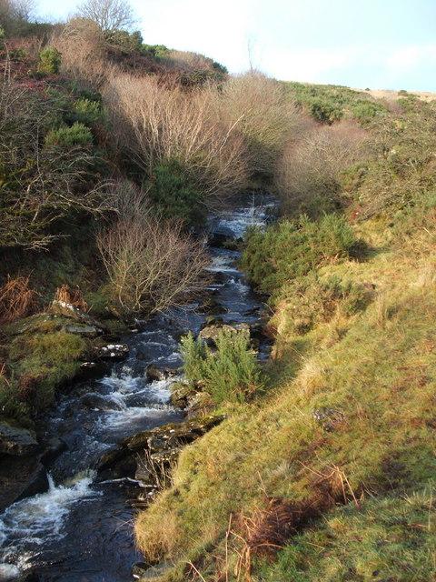 Murroch Burn - a view upstream