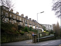 SE1039 : Cemetery Road - Keighley Road by Betty Longbottom