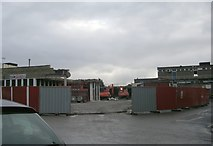 SE1039 : Shopping Centre - Chapel Lane by Betty Longbottom