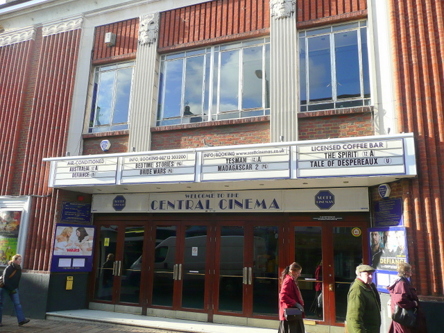 What's on at the Central Cinema?