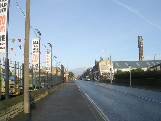 Queen's Road - viewed from Parkinson Lane