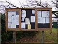 TM2055 : Otley Village Notice Board by Adrian Cable