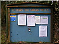 TM2054 : St. Mary the Virgin Church, Otley, Notice Board by Adrian Cable