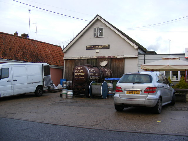 Earl Soham Brewery