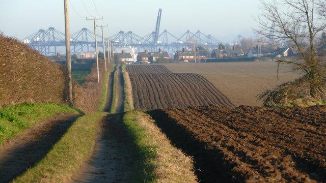 Shotley - rolling fields
