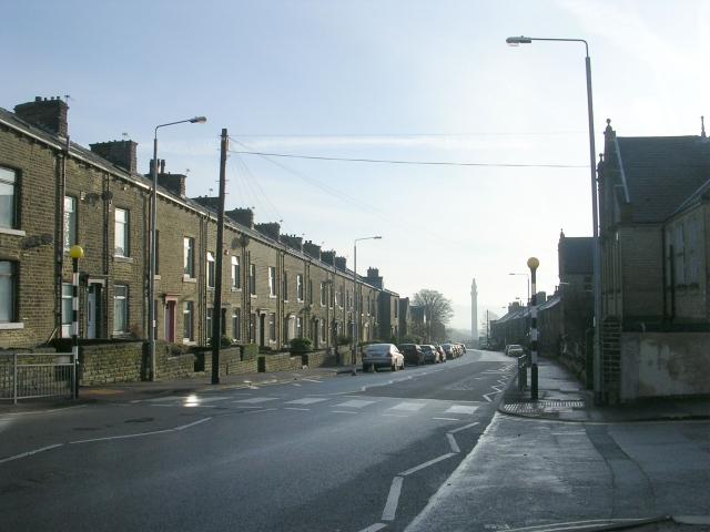 Warley Road - looking towards King Cross