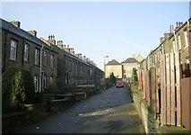 SE0724 : Stoodley Terrace - Warley Road by Betty Longbottom