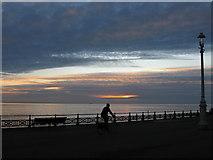 TQ2704 : Sunset on Western Esplanade by Simon Carey