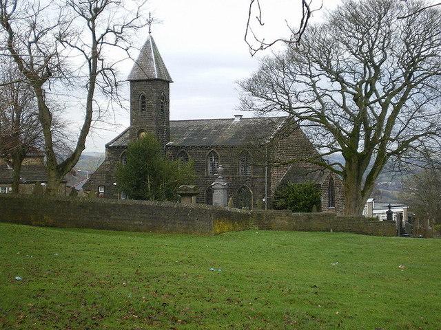 St Paul's Parish Church, Little Marsden