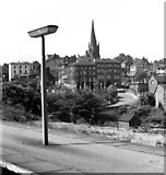 SK3871 : Crooked Spire from Chesterfield Midland Station by Andrew Tatlow