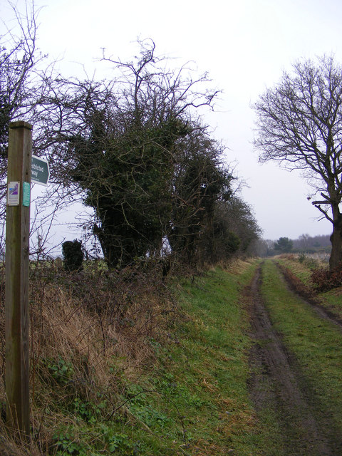 Restricted Byway to the A1094 Aldeburgh Road