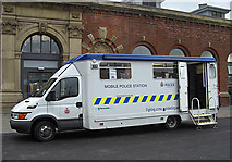 SJ9399 : Mobile police station by michael ely