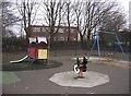 SU6453 : Danes Hill playground by Sandy B