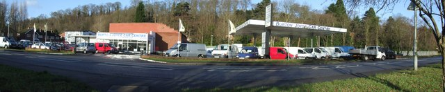Car sales at Bulcote on the A612