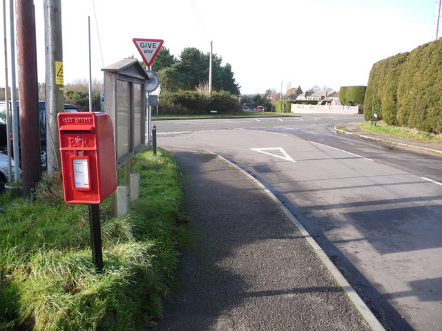 Corfe Mullen: postbox № BH16 161, Rushall Lane