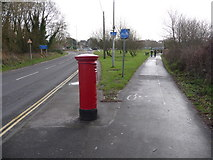 SY9287 : Wareham: postbox № BH20 252, Northport by Chris Downer