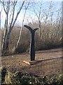 SP0189 : Millennium Milepost on Roebuck Lane - Smethwick by John M