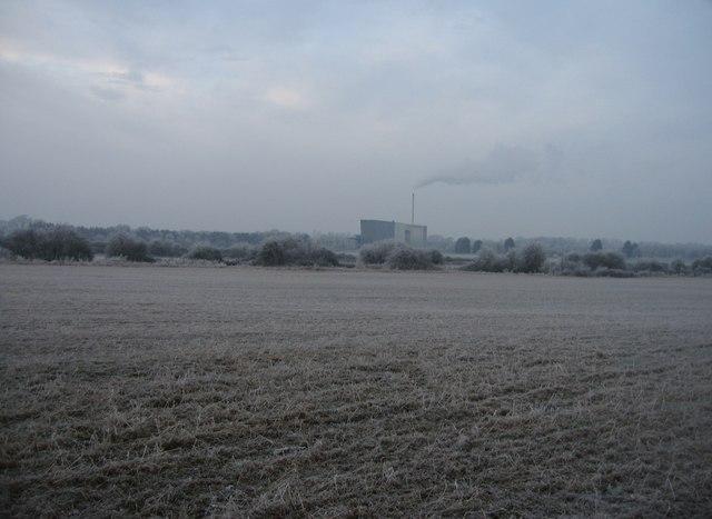 Basingstoke sewage works