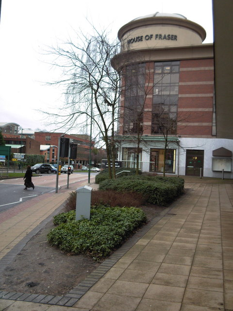 House of Fraser,  Warwick Road