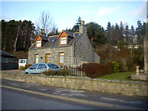 NJ6102 : Cottage on Beltie Road by Stanley Howe