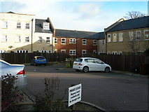 TQ7668 : Car Park and Rear of Dwellings, Garden Street by Danny P Robinson