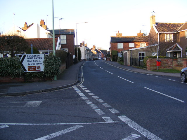 B1116 College Road, Framlingham