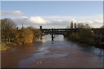SO8455 : The River Severn, Worcester by Mr M Evison
