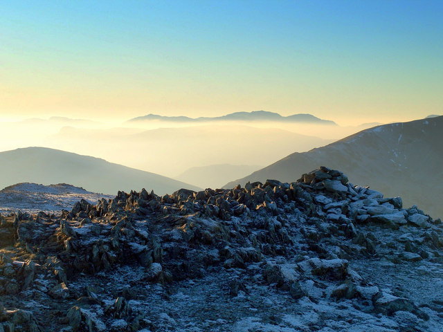Scafell Range from St Sunday Crag